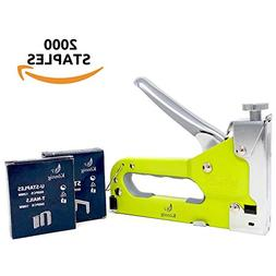 Könnig Heavy Duty Upholstery Staple Gun 3 in 1 with Staples