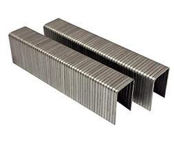 "1000 Pcs 1/4"" L. x3/8"" Galvanized Fine Wire Steel Staples, P"