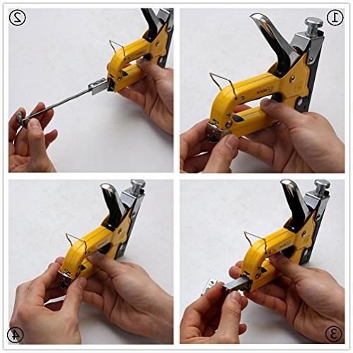 3-in-1 Gun, Operated Brad Fixing Material, Furniture, Doors And Billboards, Attached