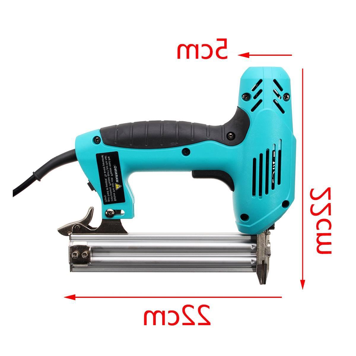 10-30mm Electric Heavy-Duty Woodworking Tool Staple <font><b>Nail</b></font> 220V Portable <font><b>Gun</b></font>