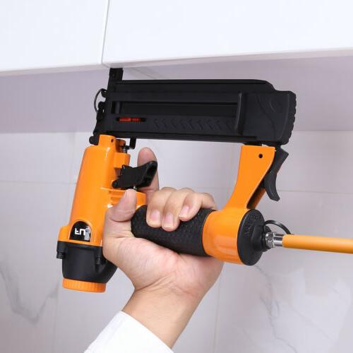 18 Gauge Pneumatic Nailer Stapler Kit Nail Gun Tool