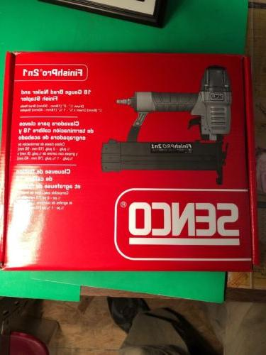 2 finishpro 2n1 brad staple gun brand