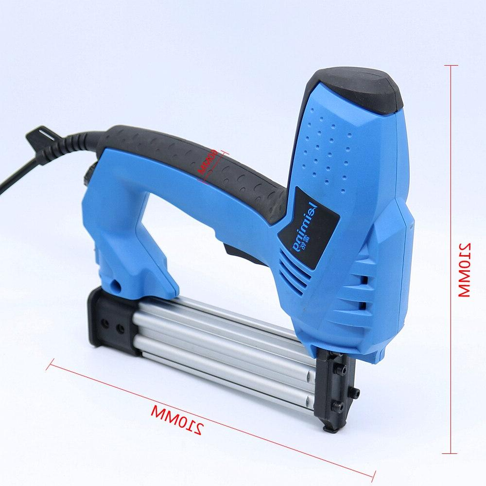 2 In 1 <font><b>Nailer</b></font> & Stapler Electric Nail Tool with 500 wood