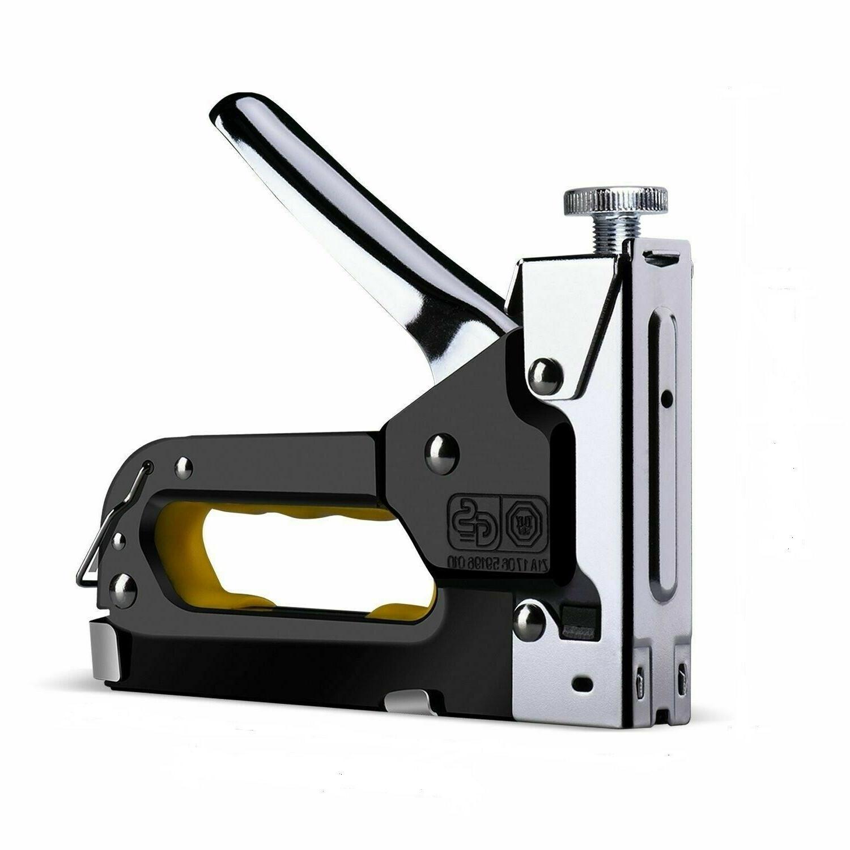 3 In 1 DIY Staple Nail Gun Hand Tool Upholstery Fabric Wood