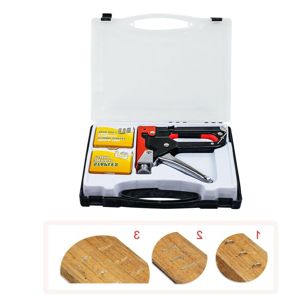 3in1 Duty Gun With 600 Staples Upholstery tool
