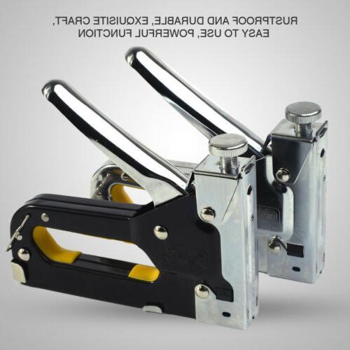 3in1 Staple Manual Heavy Tacker W/ Nail