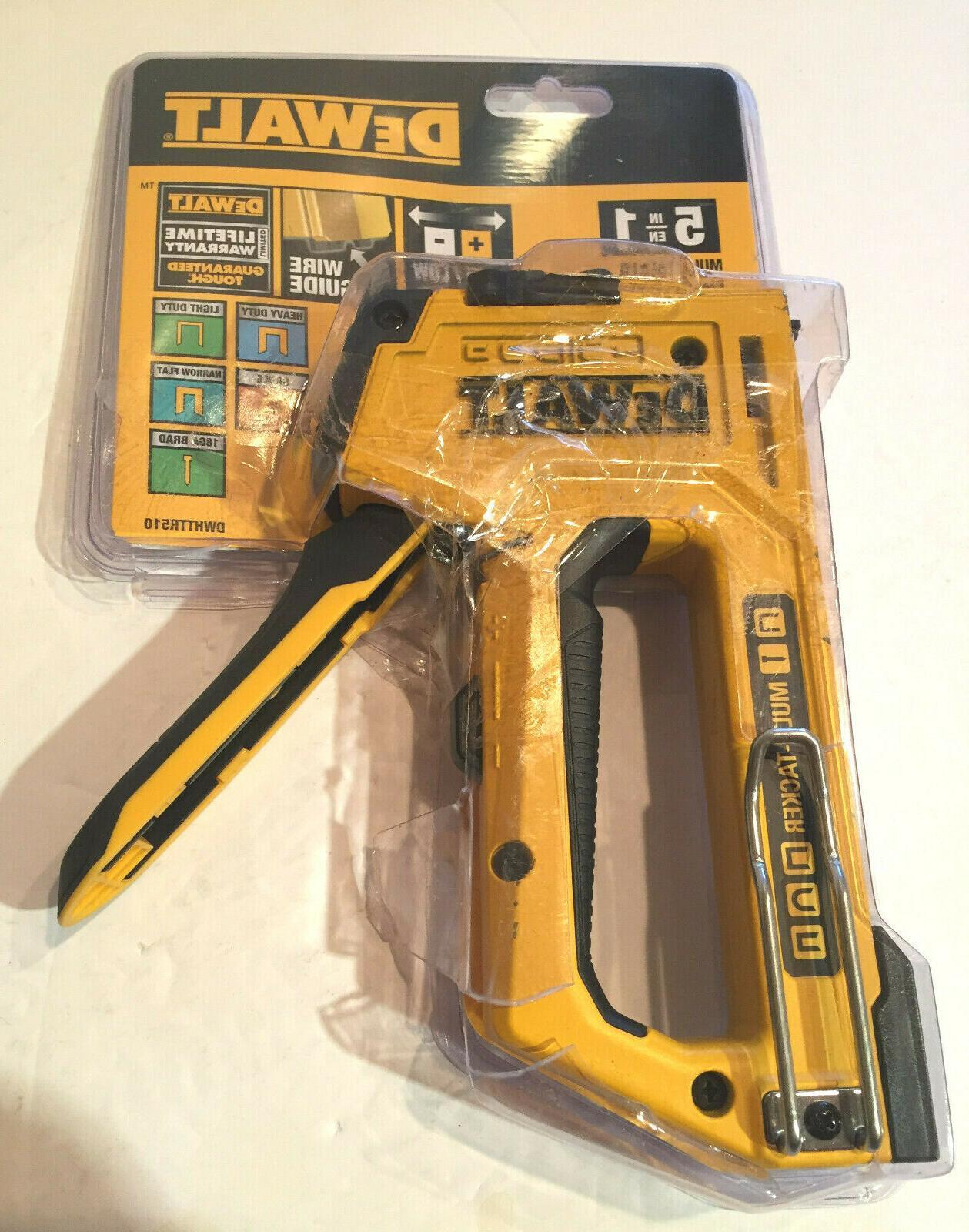 5 in 1 multi tacker stapler gun