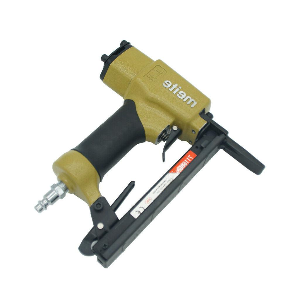 7116BL Upholstery Stapler 22 Gauge 3/8'' Crown nose stapler air gun