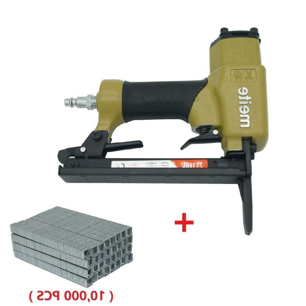 7116bl upholstery stapler 22 gauge 3 8