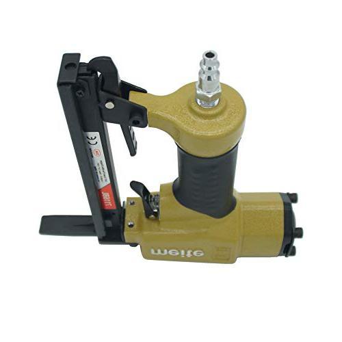 7116BL Stapler-1/4-Inch 5/8-Inch 22 Crown C Nose Fine Stapler