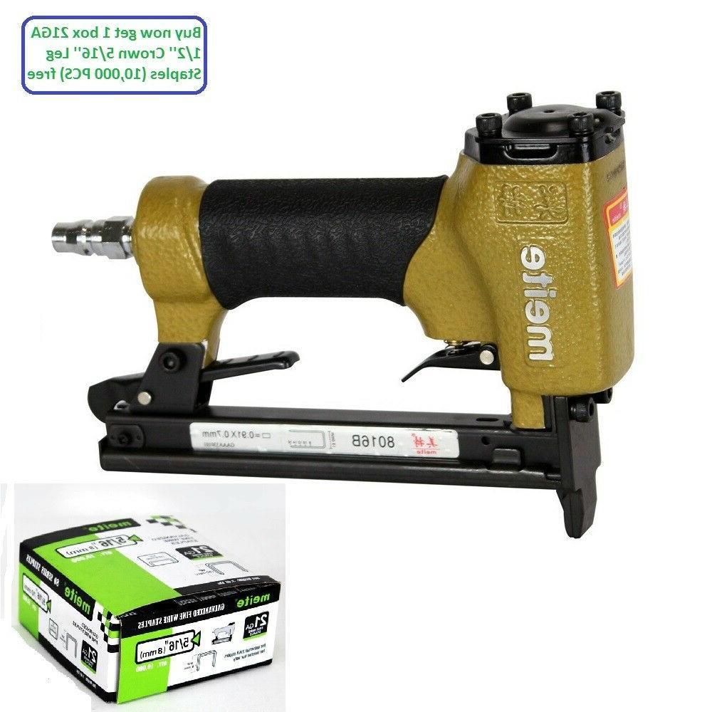 8016b 21ga air upholstery stapler power staplers