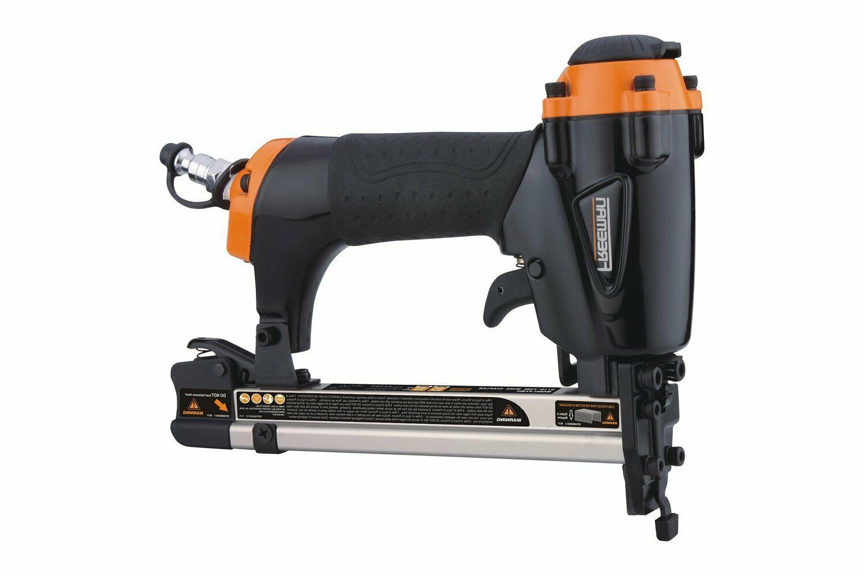 Air Pneumatic Stapler Upholstery Staple Gun Professional Fin