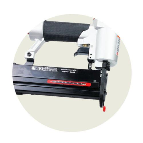 Air Pneumatic Stapler Framing Upholstery Gun nails Nailer