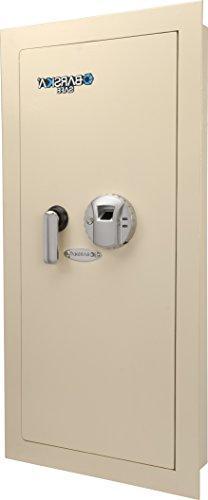 Barska Biometric Wall Safe w/ Fingerprint Lock, Left Side Op