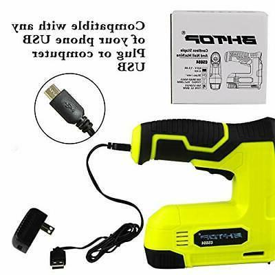 BHTOP 4V Power Cordless Gun