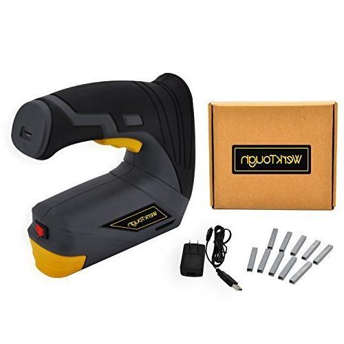 Werktough CSG01 Gun DIY Stapler with Carrying USB Charger
