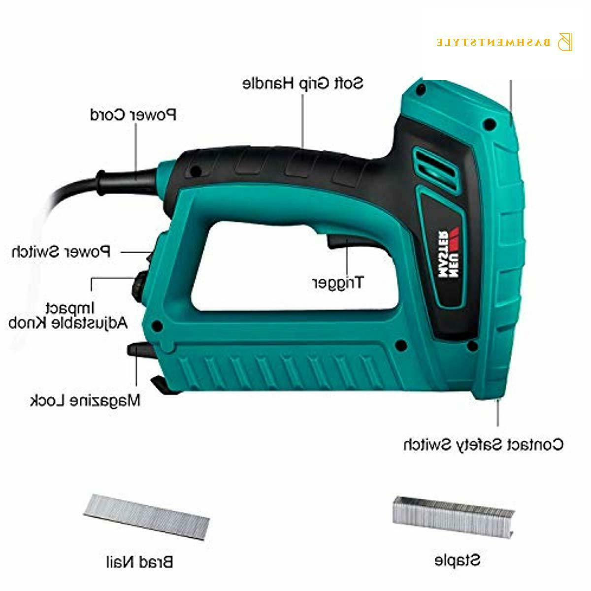 Electric Nailer, MASTER Staple with Safety Power
