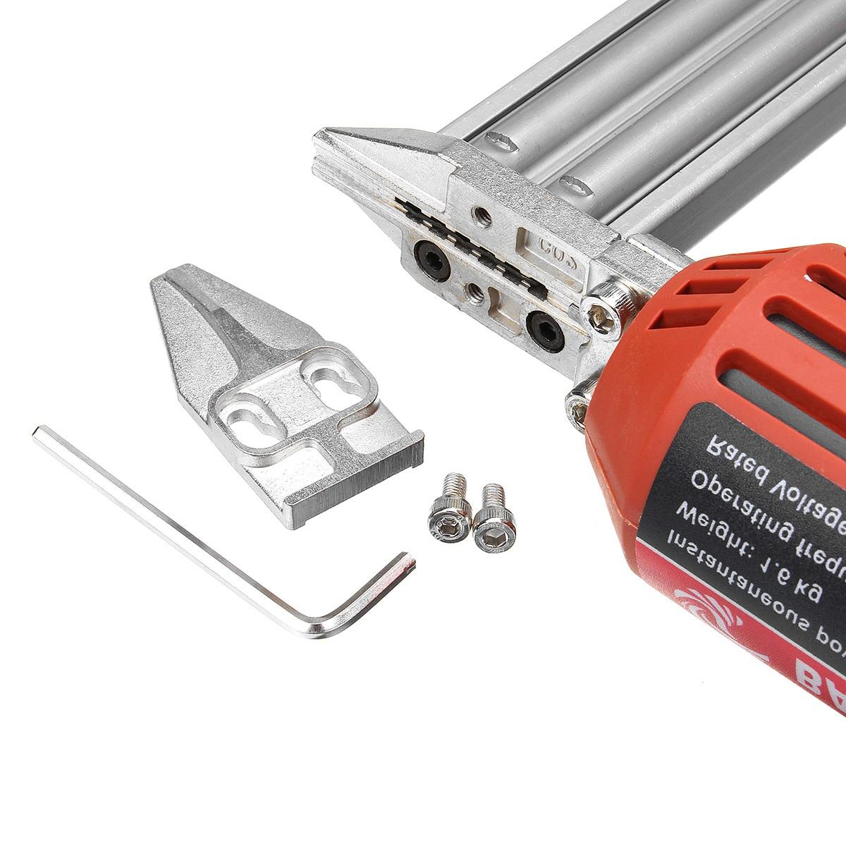Electric <font><b>Nailer</b></font> 10-30mm 1800W Staple <font><b>Guns</b></font> Tool Weight Portable Speed Rate