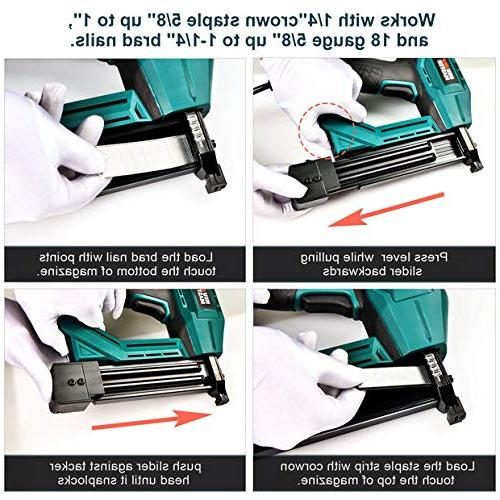Electric NEU MASTER Tool for Improvement and Including Narrow staples and