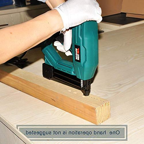 Electric Staple/Brad NEU NTC0040 Tool for Upholstery, Improvement and Narrow 400pcs and
