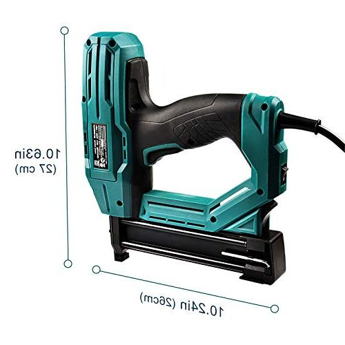 Electric Staple/Brad Nail NEU MASTER Tool Upholstery, Home Improvement and Including Narrow and brad