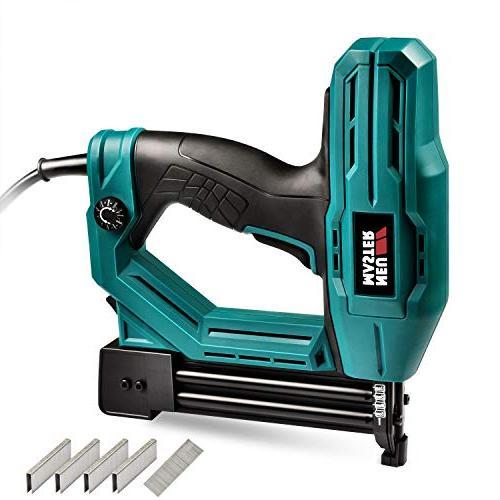 electric staple brad nail gun