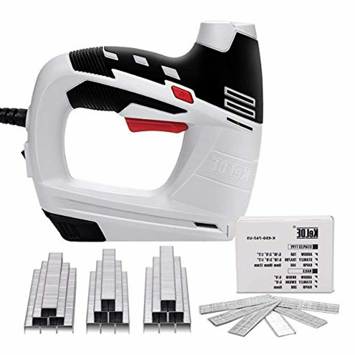 electric staple gun kit 120v corded power