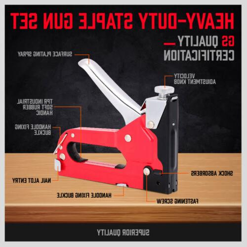 Heavy Set Tacker in 1 Fastener Tool KIt