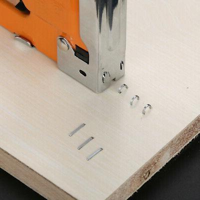 Heavy Duty Staple Stapler Nails in1 Powerful Hand Wood