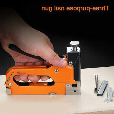 heavy duty staple gun stapler tacker nails