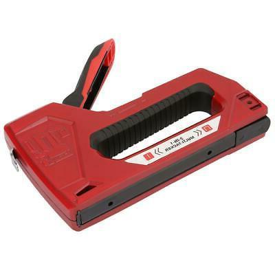 Heavy Gun Tacker Upholstery Stapler Hand Tool