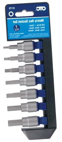 OTC (6170 Metric Hex Socket Set - 7 Piece