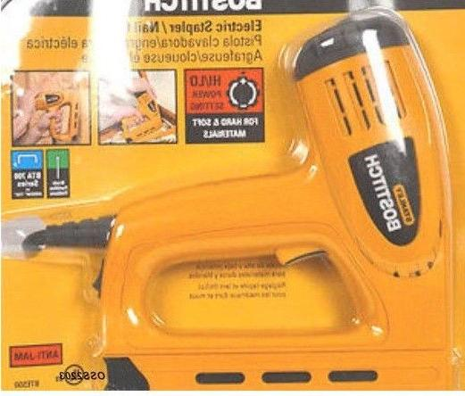 New Bostitch Electric Staple Contoured Work Tool