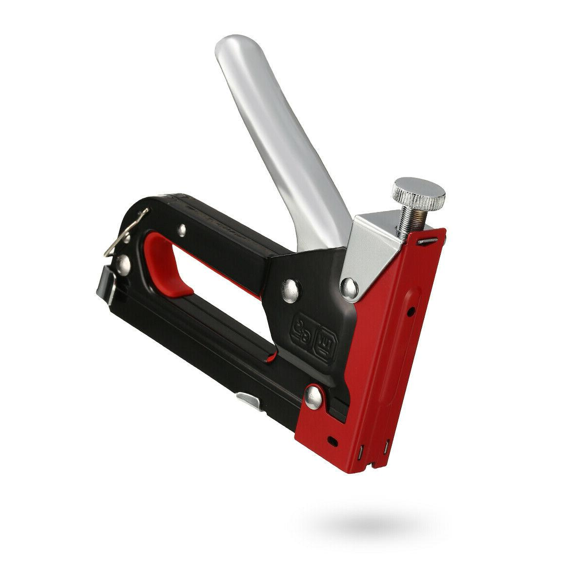 Heavy Duty Staple 3 In 1 Stapler Tacker Upholstery NEW