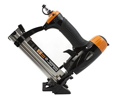 Freeman P2PFK14 Professional Pneumatic Flooring Kit 2 Nail with Flooring & 4-in-1 Nailer/Stapler Rubber Mallet