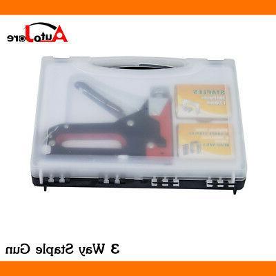 3 Duty Staple Gun Kinds Kit Crafts