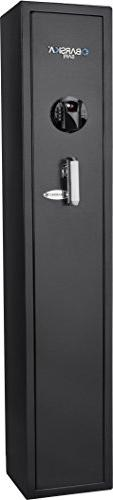 BARSKA New Large Quick Access Biometric Rifle Safe Cabinet