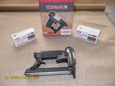 rainco upholstery staple gun and 2 boxes