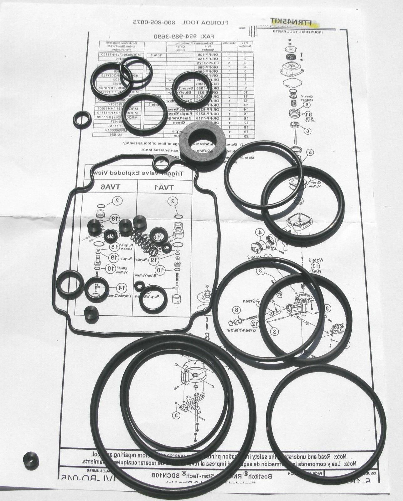 rn45 rn45b o ring oring kit spring