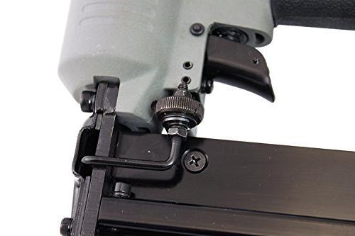 NuMax In Brad and Stapler Lightweight Pneumatic Combo & Depth Adjust
