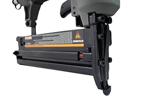 NuMax In 1 Nailer and Stapler Lightweight Pneumatic Combo & Gun Depth
