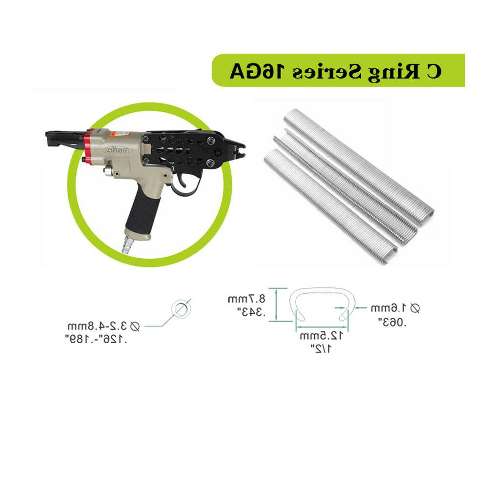 meite SC760-16GA C Ring Staples by 16 C tools C ring gun plier