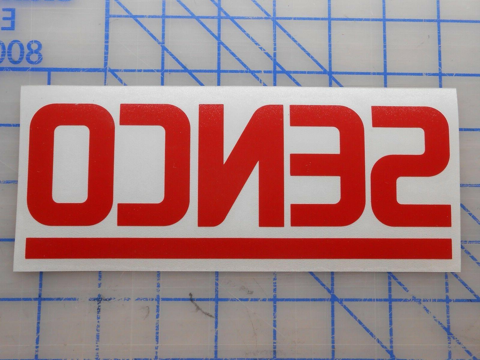 senco decal sticker 5 5 7 5