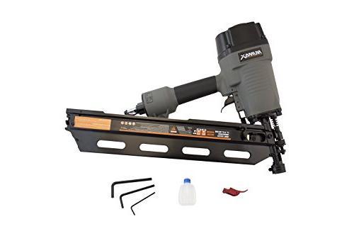 NuMax Framing Nailer Ergonomic Lightweight with Adjust & No-Mar Tip