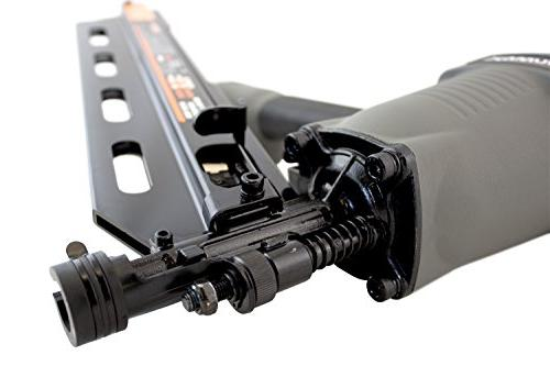 NuMax SFR2190 21 Framing Nailer Lightweight Pneumatic Gun with & No-Mar