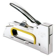 Staple Gun R23, Uses No.19 Staples, Chrome, Sold as 1 Each