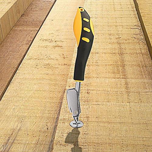 WolfWill Construction Heavy Duty Tack Lifter Tools Yellow