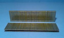 L15 1 1/4 Inch Long 18 Gauge 1/4 Inch Narrow Crown Galvanize