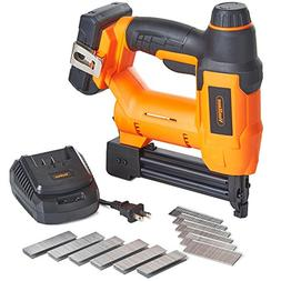 VonHaus 18V Lithium-Ion Cordless 18 Gauge Brad Nailer and St