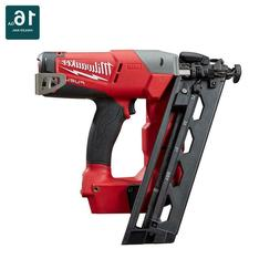 M18 FUEL 16ga Angled Finish Nailer  Milwaukee 2742-20 New